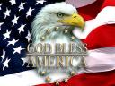 Fourth of July God Bless America Wallpaper