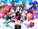 Christmas with Hatsune Miku by Sorai Shinya Wallpaper