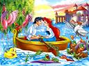 Disney Valentines Day the Little Mermaid Ariel and Eric Wallpaper