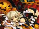Halloween Anime Girl by Misaki Kurehito Wallpaper